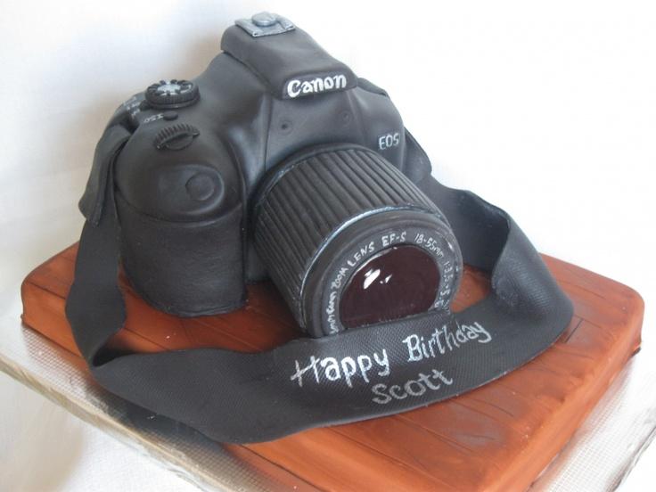 Camera cake  - can I do this? :)