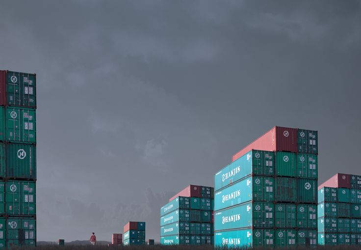 Lindsay Blamey - Container Stacks