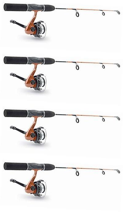 Ice Fishing Rods 179947: 24 C Cel-Spn Rod Reel 3 Ice Jigs Combo Fiberglass Graphite -> BUY IT NOW ONLY: $32.3 on eBay!