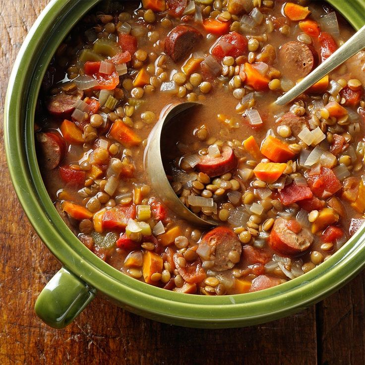 Lentil chicken sausage stew recipe lentil sausage