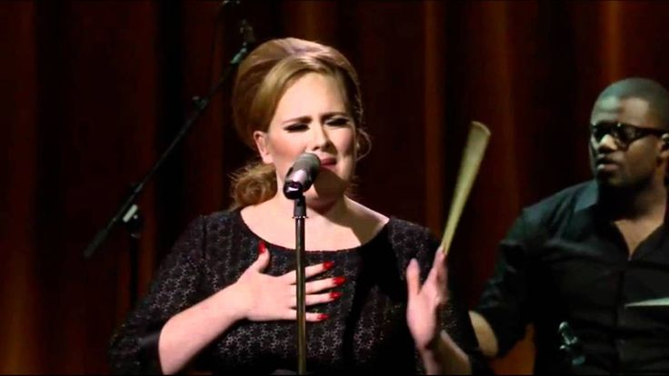 Adele - Chasing Pavements (Live) Itunes Festival HD