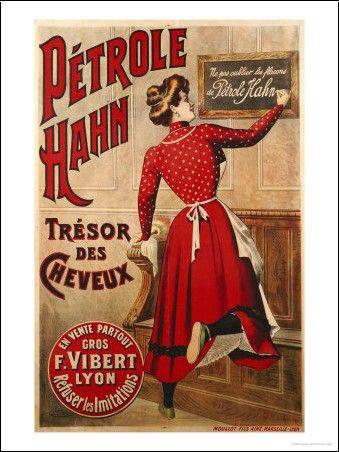 Henri de Toulouse-Lautrec - Pétrole Hahn, C.1910