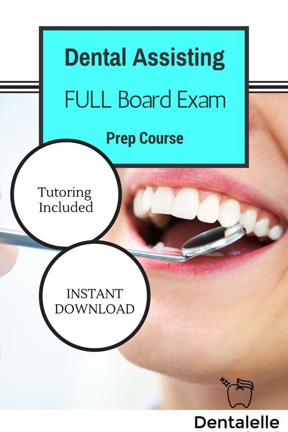 Dental Assisting FULL Board Exam Prep Course - a full course LIVE