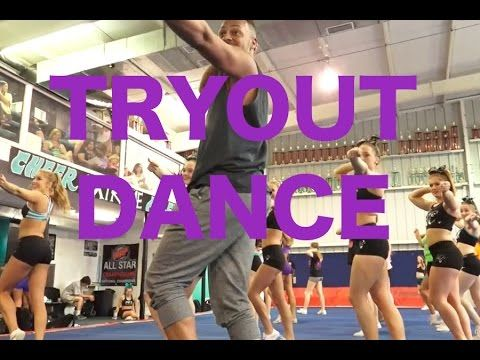 Cheer Extreme Tryout Dance 2015 - YouTube