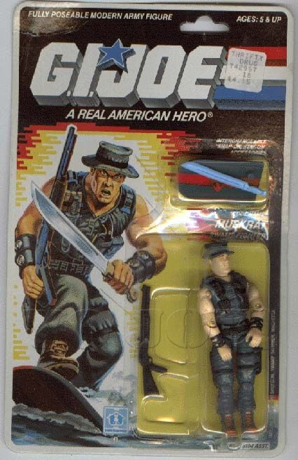 Muskrat (v1) G.I. Joe Action Figure - YoJoe Archive
