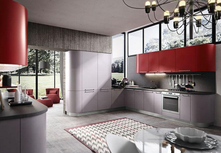 Colormatt modern konyháink - www.montegrappamoblili.hu