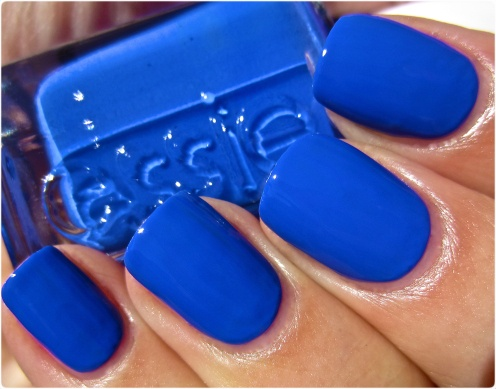 Wearing this now <3 Essie Butler Please from 2012 Winter Collection