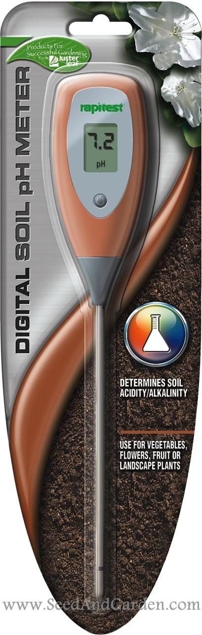 Seed And Garden LLC - Digital Soil pH Meter, $11.99 (http://www.seedandgarden.com/shop/products/digital-soil-ph-meter.html)