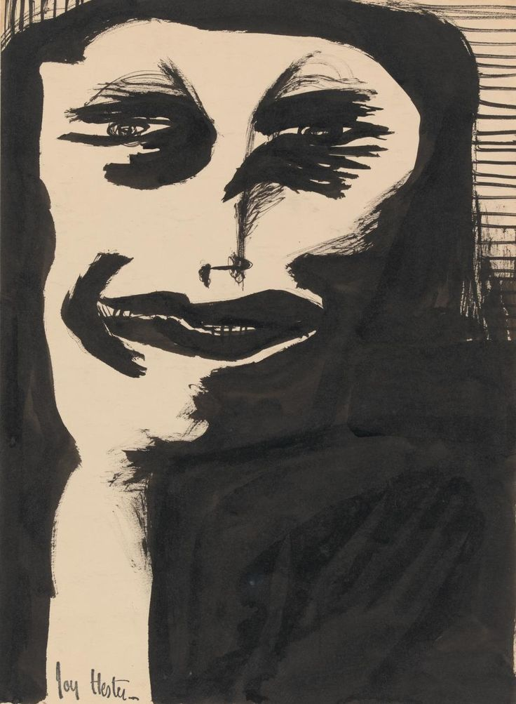 (Untitled) (Woman in black)