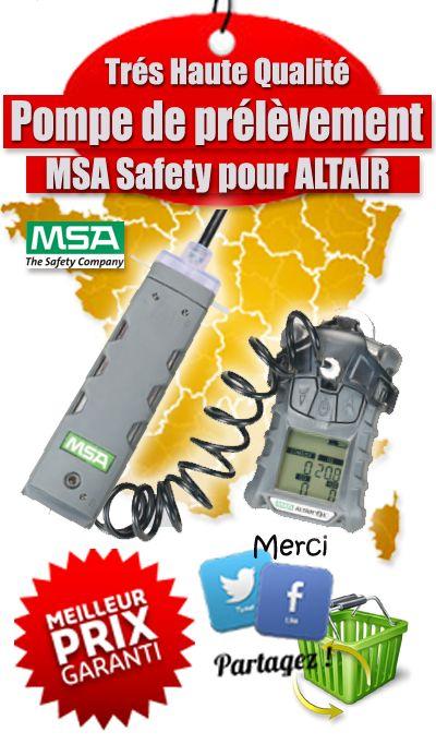 Pompe de prélèvement pour détecteur ALTAIR 4x de chez MSA Safety - Sonde à pompe ALTAIR.