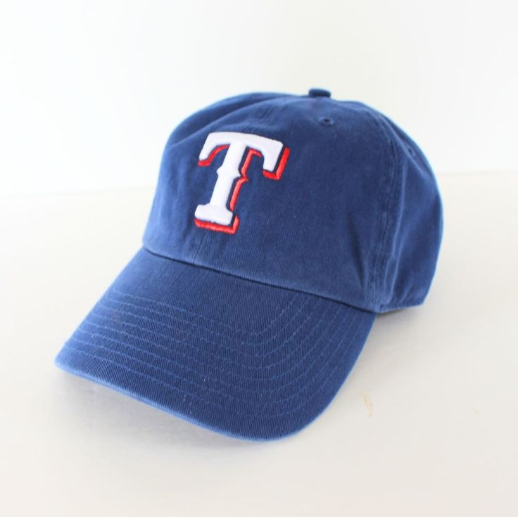Texas RANGERS 47 Brand Genuine MLB Baseball Hat Cap Adjustable Dark Blue Classic #47Brand #TexasRangers