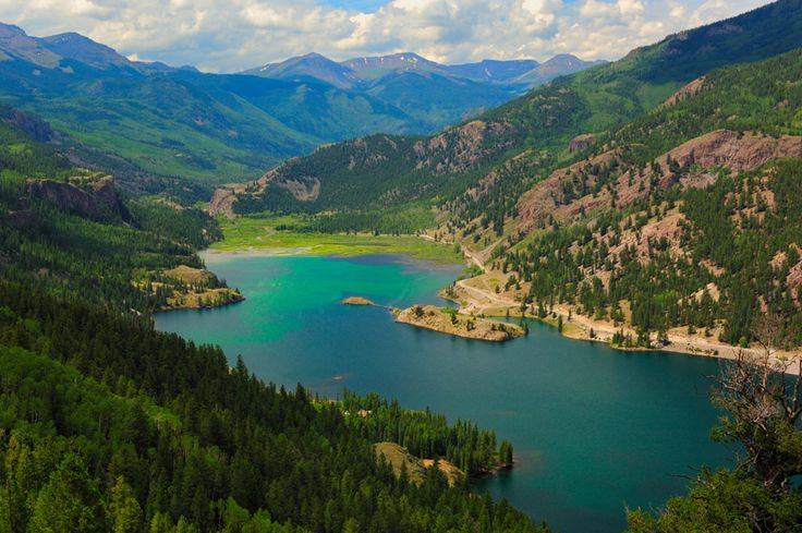 lake city, co | Lake City Colorado Wide-Angle Water Landscape | Scott Fillmer