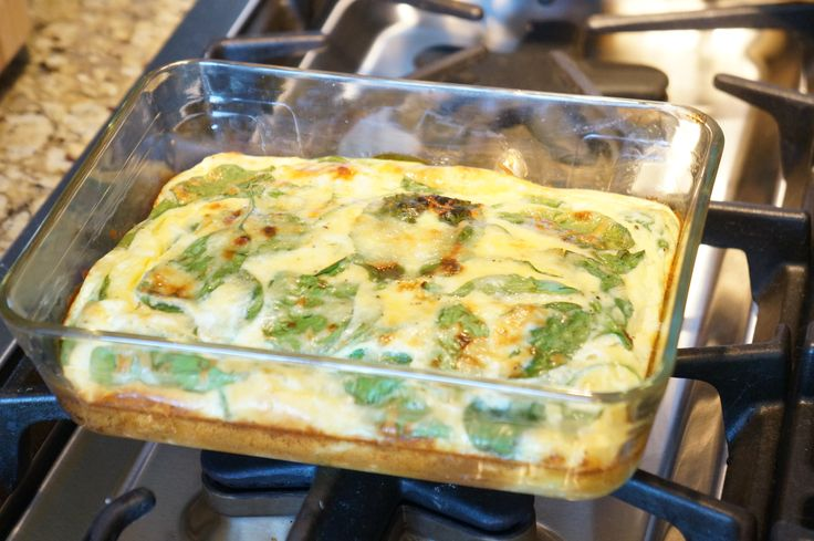 Baked eggs breakfast souffle--Ayesha Curry