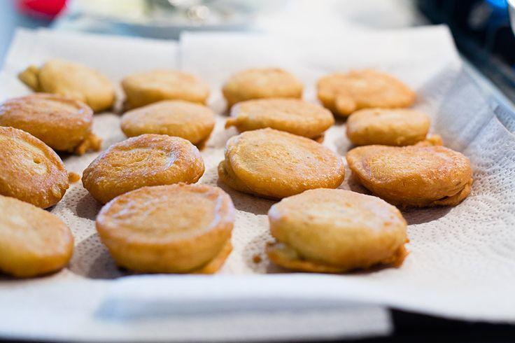 Pancakes di farina di ceci