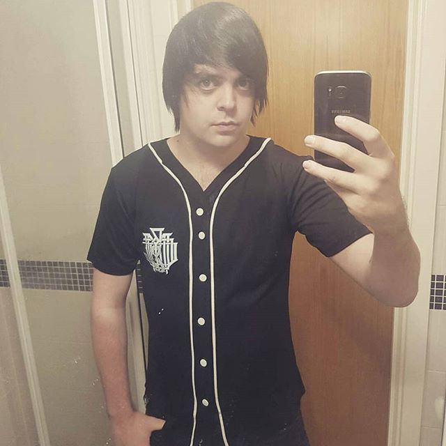 "Shout out @craigd0404 reppin our ""Americunt"" Baseball Jersey available at www.crmc-clothing.co.uk 