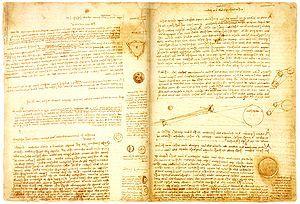 Codex Leicester (Codex Hammer) - Leonardo da Vinci  c. 1510 (1504-1508)