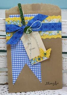 teacher thank you gift card packaging { HappyLittleArt }