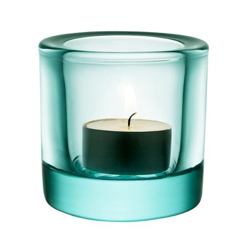iittala Kivi Candle Holder - Water Green $15.00