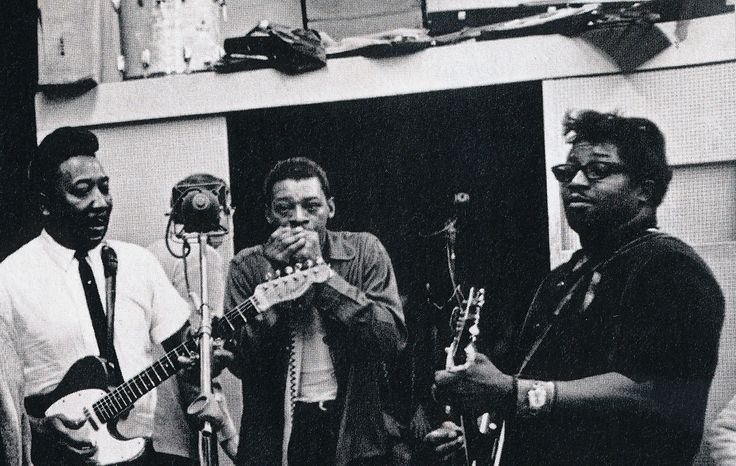 Muddy Waters, Little Walter, and Bo Diddley