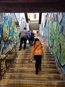 Val-paraíso... mi puerto bello: Panorama de Vacaciones de Invierno: Conozcamos Escaleras de Valparaíso