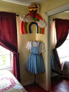 Corner By The Closet In My Wizard Of Oz Room Wizardofoz Decor
