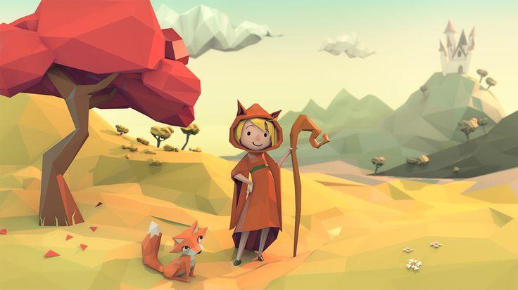 http://ndragonfly.cgsociety.org/art/3d-blender-low-poly-fantasy-illustration-wizard-fox-2d-1305362
