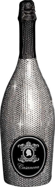 Exclusive Swarovski Edition Prosecco DOC Brut  It pairs beautifully with fresh fish, caviar, chicken and turkey dishes. Serves as an aperitif.