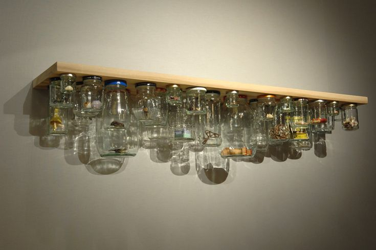 See what you're looking for at a glance | MoM loves this Jam Jar storage idea