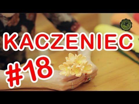 Kwiatki z bibuły #18 - kaczeniec - YouTube