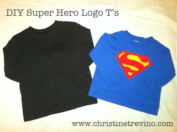 DIY Super Hero Logo T'sSuperhero Shirts Way, Heroes Logo, Super Heros, Superhero Stuff, Logo T S, Super Heroes, Diy Projects, Diy Superhero Shirts, Diy Geek Erie
