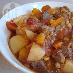 Vijf uur rundvlees en paddestoelen stoofpot @ allrecipes.nl