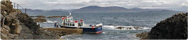 Boat Tours to Iona, Staffa, Treshnish, Mull & Fingal's Cave