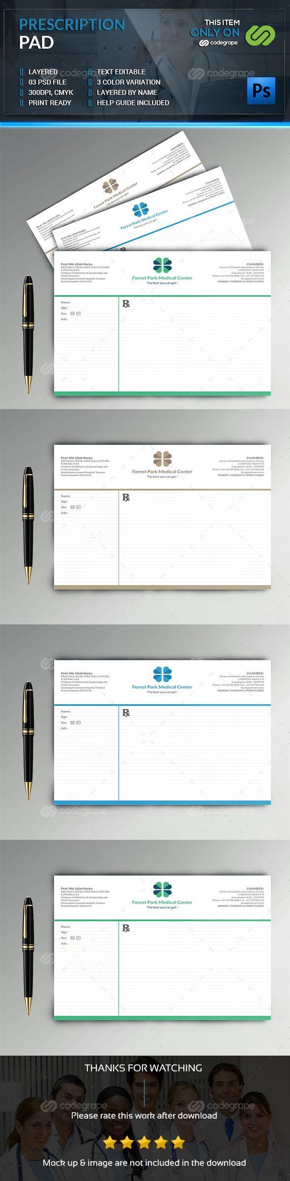 Prescription Pad on @codegrape. More Info: https://www.codegrape.com/item/prescription-pad/8054