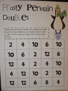 Mrs. T's First Grade Class: Penguin Games