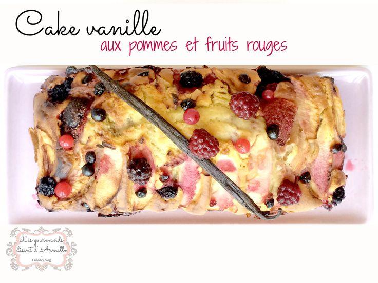 Pour le cake vanille aux pommes et aux fruits rouges , vous n'aurez besoin ni de batteur ni de plusieurs récipients. Tout se fait dans le même bol et avec une fourchette! En plus, il est ultra facile et rapide à faire : ce n'est pas génial ça? Ingrédients...