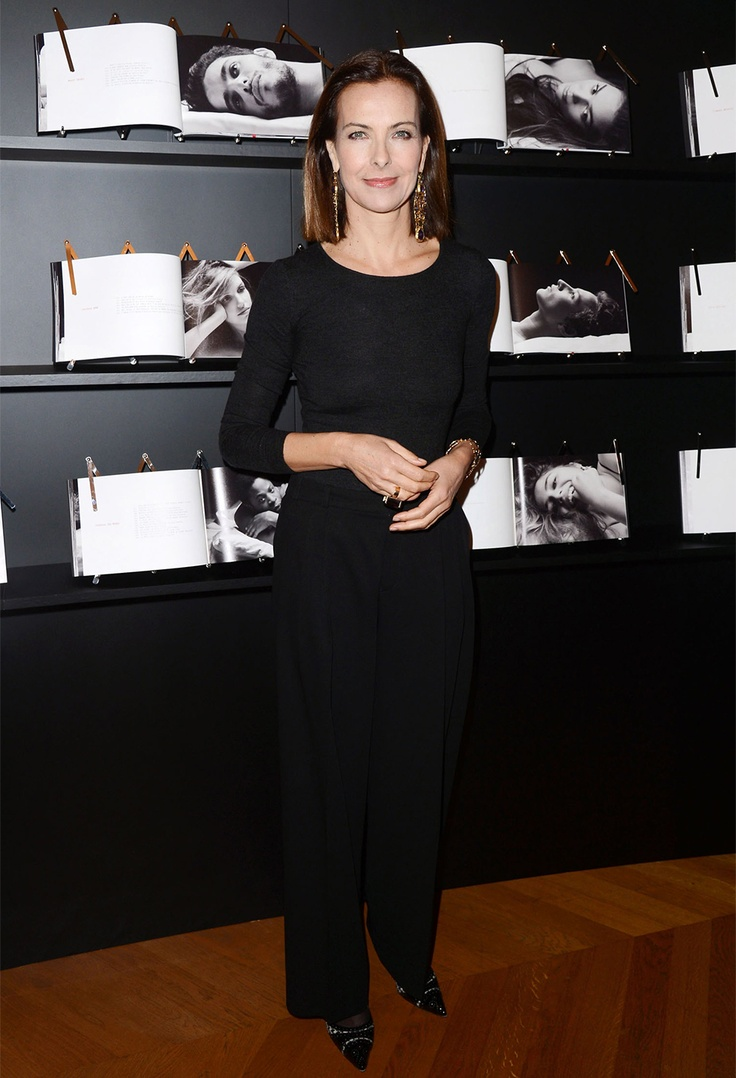 """Révélations"" evening gala in Chaumet private Salons. Carole Bouquet #Cesar #Chaumet"