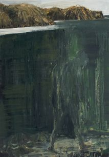 Euan Macleod Walking under Water 2012/ this makes me think of depression...(AMF)