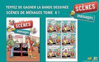 Tentez de gagner la bande dessinée Scène de ménage ! : Scènes de ménages sur M6