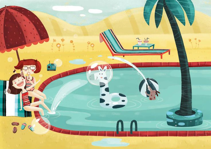 ''Summertime memories with my best friend'' is a project that depicts the moments of two best friends Ollie and Cleo in a nostalgic way.