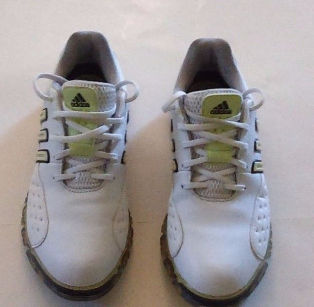 Adidas Adiprene Women's Signature Paula 2 Golf Shoes 7.5 M White Lime #adidas…