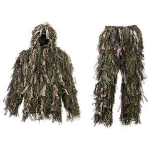 Hot Shot 3-D Ghillie Suit for Men - Natural Blind Brown - XL/2XL