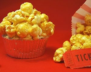 Caramel popcorn cupcake - We have actually made these at home, they are fantastic!