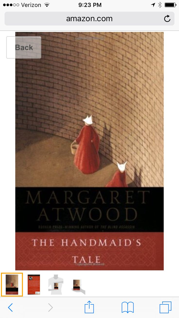 The hand maids tale to read