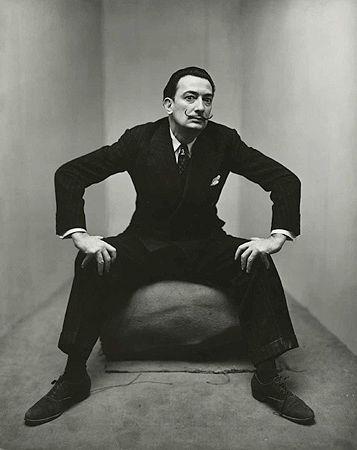 un retrato de Salvador Dalí