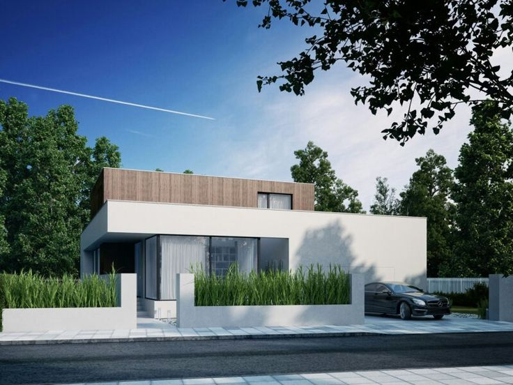 Cube house architecture. Contemporary ...
