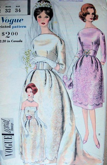 Lovely Wedding Dress Bridal Gown Pattern Bell Shaped Skirt