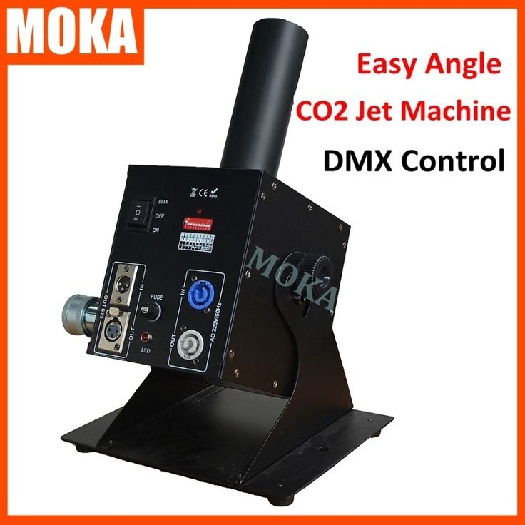 228.00$  Buy here  - Dmx 512 Control Cryo Co2 Jet machine Easy Angle Cannon Nightclub Special Effects Co2 Jet Machine AC 110V, 220V 50/60Hz