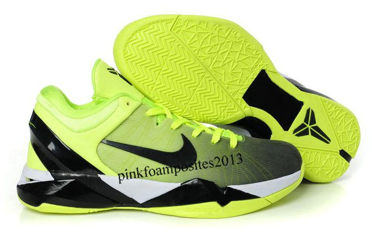 sports shoes 4c739 dfa86 2013 Nike Zoom Kobe 7 System ID Fade Option Volt Black-Wh shoes for sports