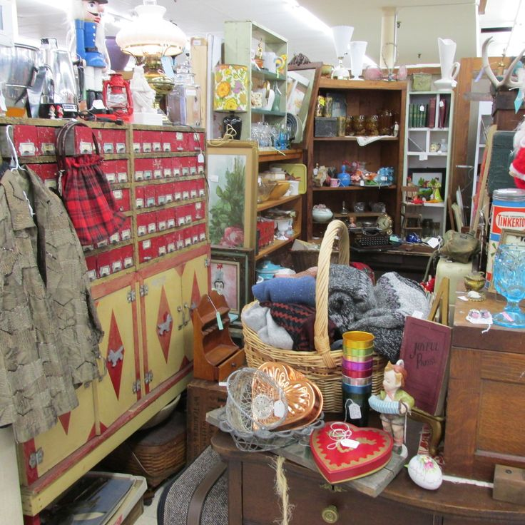Booth At Early Owego Antiques (Mall).