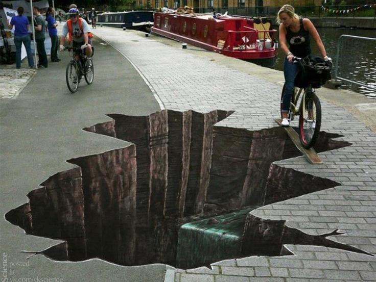 Great sidewalk art